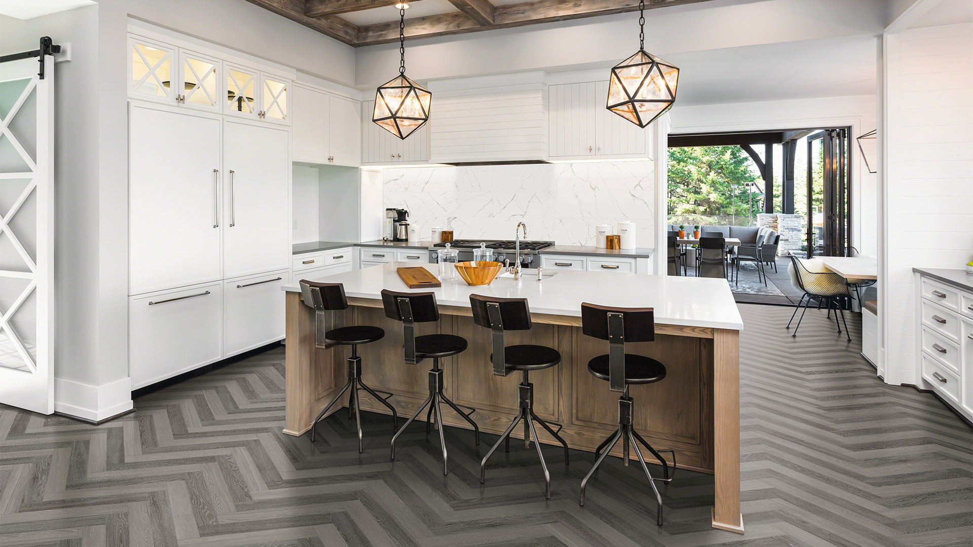 Anatolia Aspen Beachcomber & Grey Ridge Porcelain Tile