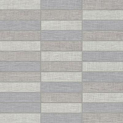 Anatolia Belgian Linen 1x4 Stacked Mosaic Dark Blend Porcelain Tile