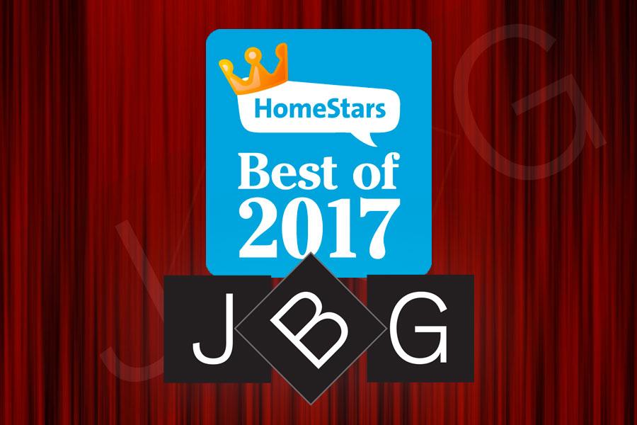 JBG HomeStars 2017 Winner