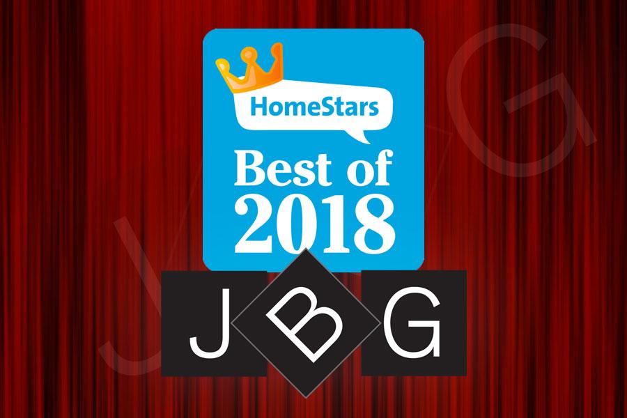 JBG HomeStars 2018 Winner