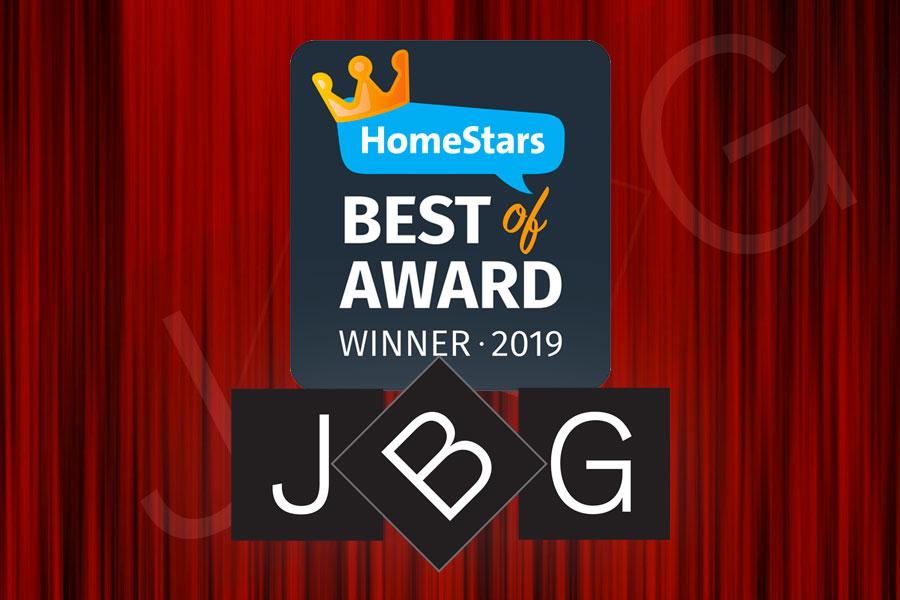 JBG HomeStars 2019 Winner
