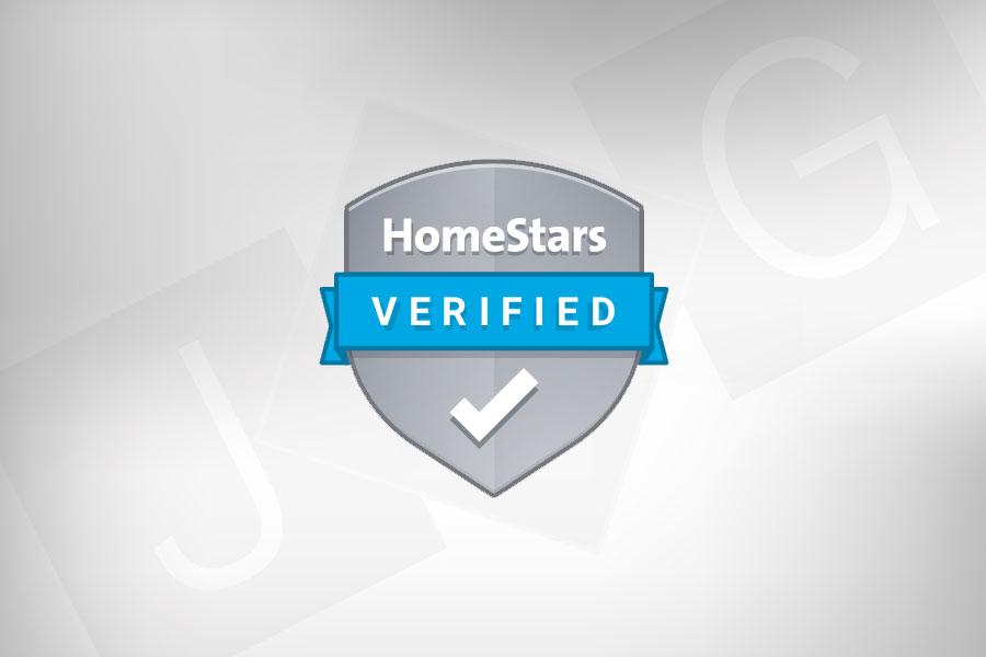 JBG HomeStars Verified Badge
